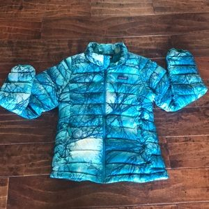 Patagonia girls puffer jacket